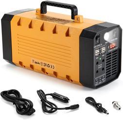 Portable Solar Generator 500W 288WH UPS Station Emergency Ba