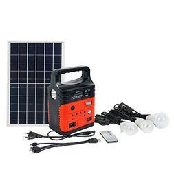 ECO-WORTHY 10W Portable Solar Generator Kit, Power Inverter,