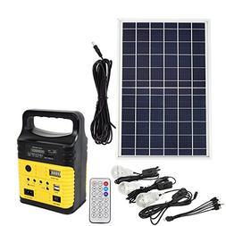 portable solar generator kit emergency