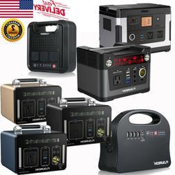 Portable Solar Generator Power Supply Station Emergency Ener