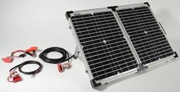 80 Watt Portable Solar Kit w/ 30' Extension Cable