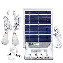 Outdoor Portable Solar LED Lighting System LED Lights, 3W So