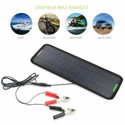 Allpowers Portable Solar Panel 5W 12V 18V Battery Charger Ma