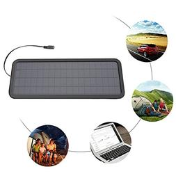 18V 12V 10W Portable Solar Panel Battery Charger for Car bat