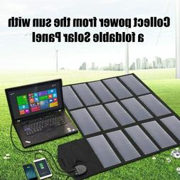 Portable Solar Panel Charger 100W 18V 12v Foldable For iPhon
