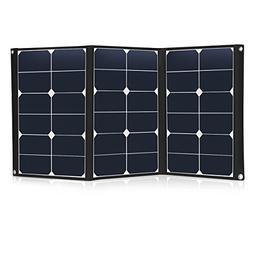 60 Watt Portable Solar Panel Charger Foldable Sunpower 18V 1