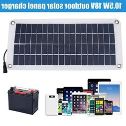 Portable Solar Panel Charger Powerbank 18V 10.5W Car Solar P