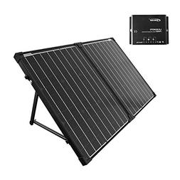 ACOPOWER 100W Portable Solar Panel Kit, Waterproof 20A Charg
