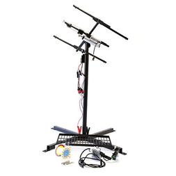 Portable Solar Panel Mount Stand Generator Outdoor System by