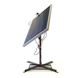 Portable Solar Panel 100w & Mount Stand Generator Outdoor Sy
