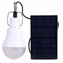 E-Bro Portable Solar Panel Power LED Bulb Lamp Outdoor Camp