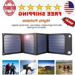 portable Sun Light Solar Cells Charger panel kit for hiking