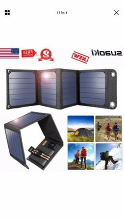 Suaoki Portable Sunpower Solar Panel Charger Splashproof 7W