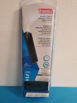 Portable Weatherproof 2-Watt 12-Volt Indoor Use Solar Batter