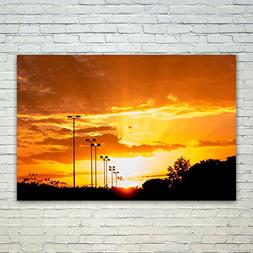Westlake Art Poster Print Wall Art - Sky Afterglow - Modern