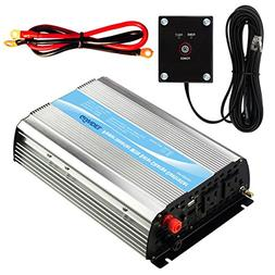 Giandel 1000Watt Power Inverter 12V DC to 110V 120V AC with