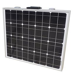 ECO LLC 80W Power Mono Portable Folding Solar Panel Home Bat