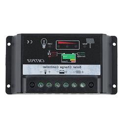 Powereco 20A Solar Panel Charge Controller for 12V/24V Batte