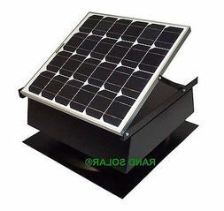 Rand Solar Powered Attic Fan-40 Watt-w Roof Top Ventilator w