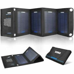Anker PowerIQ equipped solar charger foldable 14W Japan New