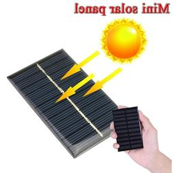 Protable 5V 1.25W DIY Battery Solar Panel Cell Phone Charger