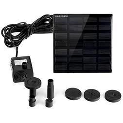 Solar Pump, Danibos Solar Power Water Pump Panel Kit Submers