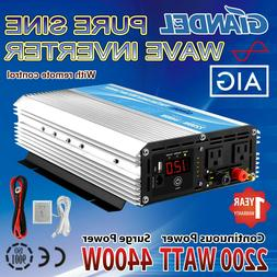 pure sine power inverter 2200w 4400w 12v