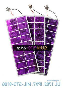 *PURPLE* colored solar cell 5v 275 Watt USB wired Mini Solar