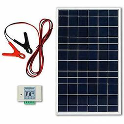 ECO-WORTHY 10W PV Polycrystalline Solar Panel System kit W/
