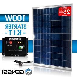 PV SOLAR KIT: 100 W Watt 100Watts PV Solar Panel 12V RV Boat