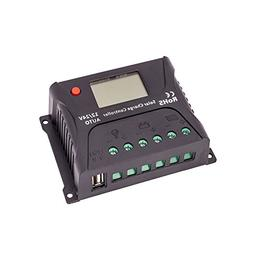 HQST 10A PWM Solar Charge Controller Auto 12V 24V Battery Re