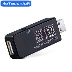 RainbowTek Qualcomm QC2.0/QC3.0/MTK-PE USB Trigger Tester In