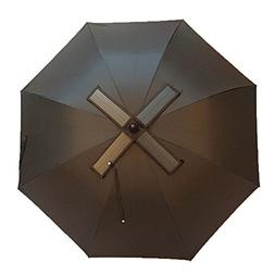 madewin 30 Inch Real Solar Fan Umbrella Fan Umbrella Recharg