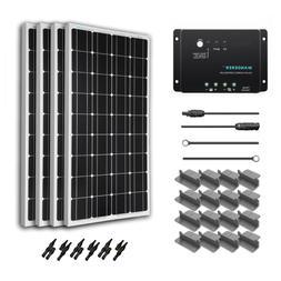 renogy 400 watt 12 volt monocrystalline solar