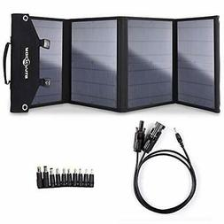 100W Foldable Solar Panel Charger for Suaoki Portable Genera