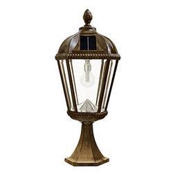 royal bulb solar pier light
