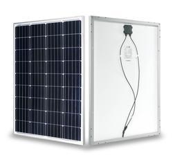 RPS 100 Watt Monocrystalline Solar Panel 12 Volt Battery Cha
