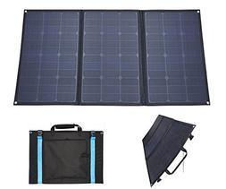 RV Solar Panel Kit 100W 12V GetChance Foldable Flexible Sola