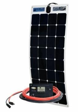 RV Trailer Electrical Go Power High Efficiency Solar Flex Ki