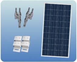 Colorado Solar RV100-12FE RV Solar Panel Charging Expansion