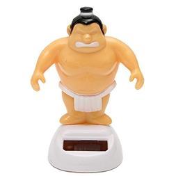 Science & Toys - Solar Power Sumo Wrestler Bobble Figure Dan