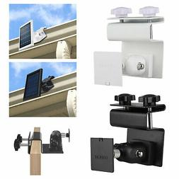 Security Gutter Mount for Ring Camera Spotlight Solar Panel