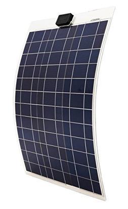 ECO-WORTHY 50 Watts 12 Volts Semi-Flexible Solar Panel Modul