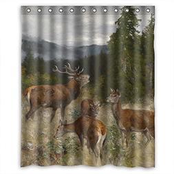 Sunsmiles Shower Curtains Art Bathroom drape Width X Height