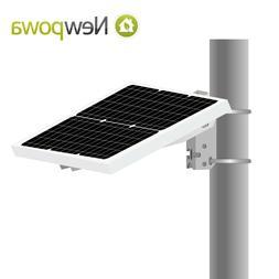 NEWPOWA SINGLE ARM SIDE OF POLE/WALL MOUNT FOR 10W-35W PANEL