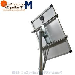 "Single XL Solar Panel Top of Pole 4' x 4' x 48"" Long Mount f"