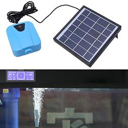 Awakingdemi Solar aerated pump aquarium fishing aquarium aqu