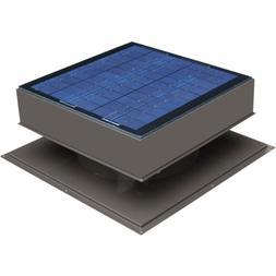 Remington Attic Fan, Solar 20 Watt Solar-Powered, Roof Mount