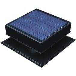 Remington Attic Fan, Solar 30 Watt Solar-Powered, Roof Mount