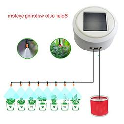 AiHitech Solar Automatic Watering Flowers System with Smart